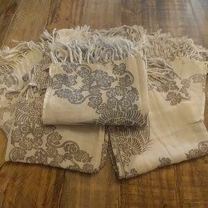 Beautiful Thai Printed Double Cotton Scarf
